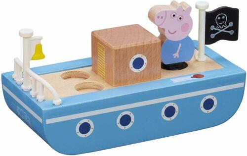 Peppa Pig bateau en bois