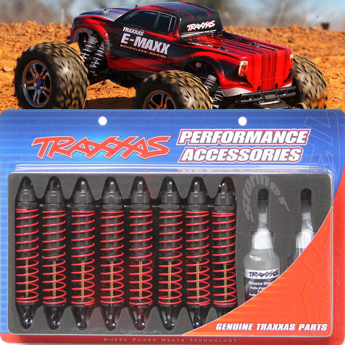 Traxxas X-Long Big Bore 4962 Shocks för E-MAXX.Rekommänderad uppkvalitetringa.