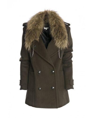 Fracomina de Fr16fmambra style manteau M tailles militaire S UPUBwrqF