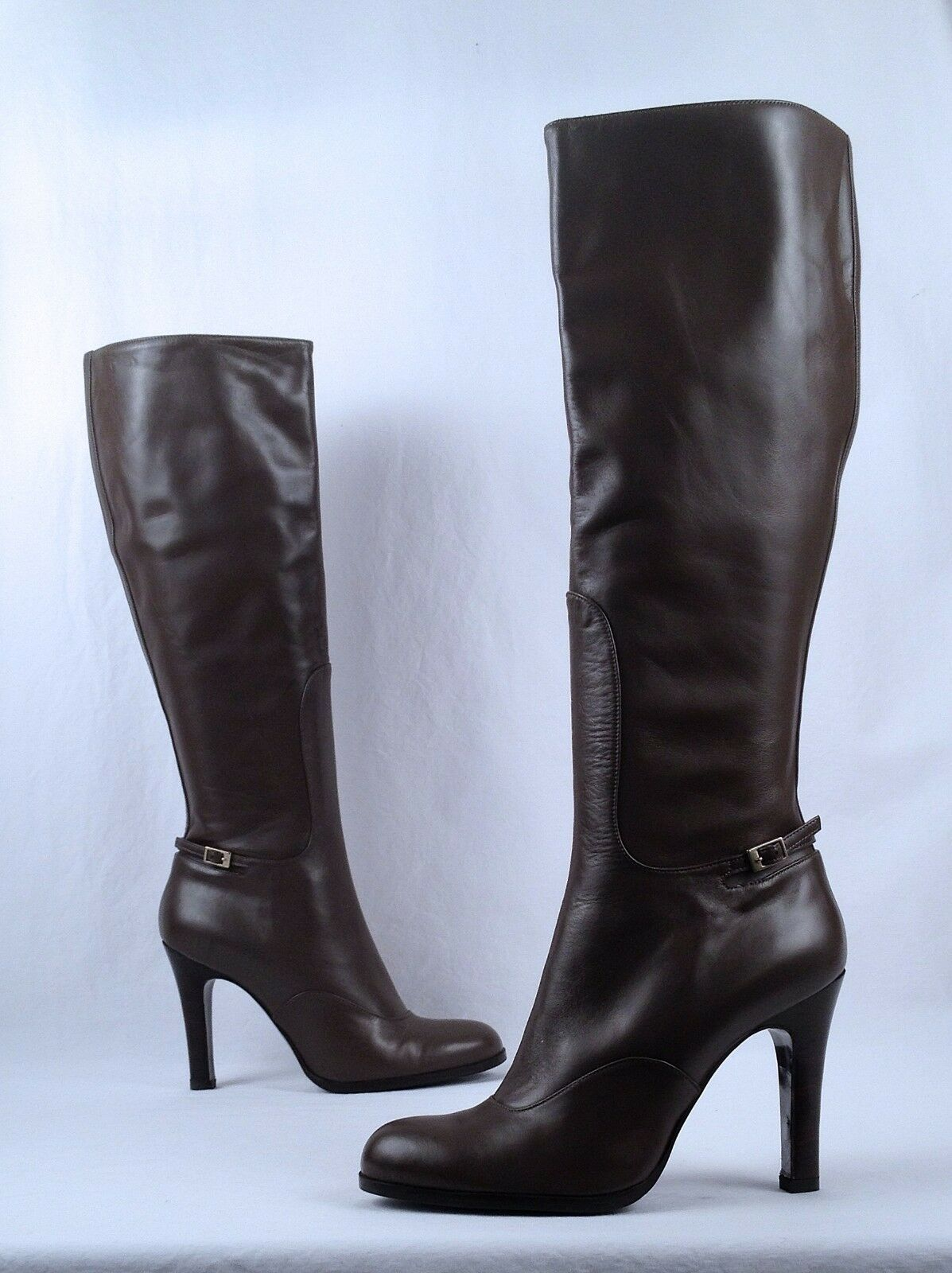NEW   LK Bennett Bennett Bennett Tall Boot- Grau- Größe 10.5 US/ 40.5 UK 950 (B56) 0000da
