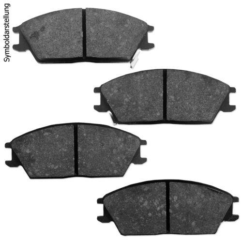 4 Bremsscheiben Bremsbeläge vorne hinten für Nissan Primastar Opel Vivaro