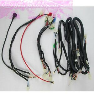 genuine kandi parts wire harness for 250cc 250fs go kart dune buggy  image is loading genuine kandi parts wire harness for 250cc 250fs