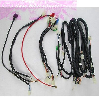 Kandi parts Wire harness for 110CC 125CC 49FM5 125FM5 GO KART DUNE BUGGY |  eBay