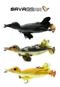 SAVAGE-GEAR-3D-DUCK-FLOATING-TOPWATER-SWIMBAIT-SELECT-SIZE-COLOR