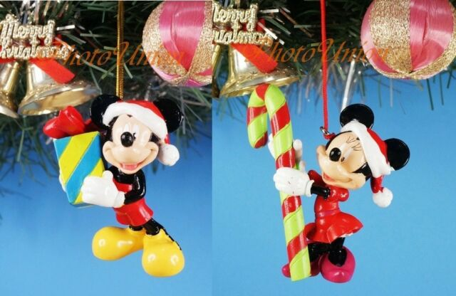 Decoration Xmas Ornament Home Party Decor Disney Mickey Minnie Mouse Gift A_B