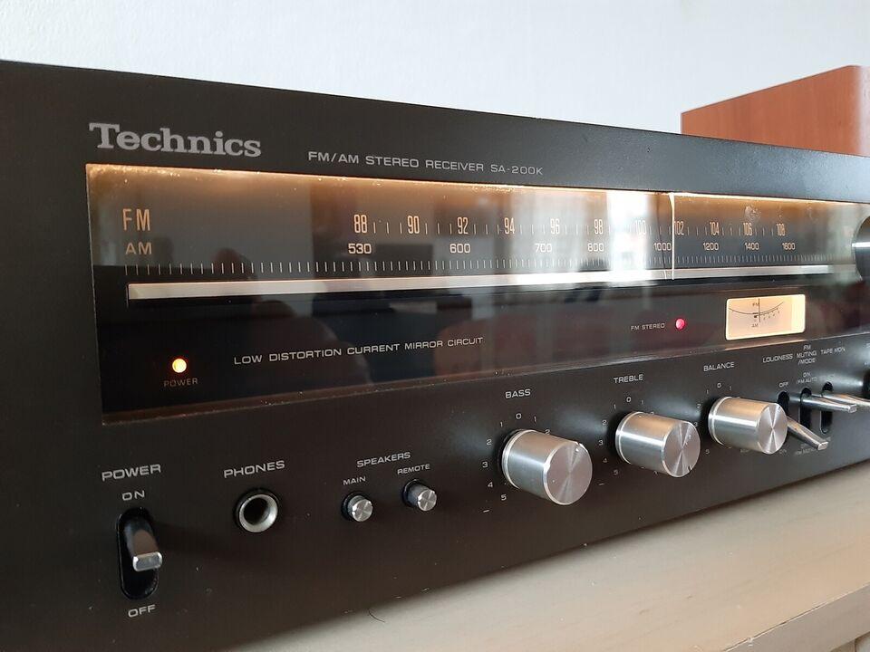 Receiver, Technics, SA-200K