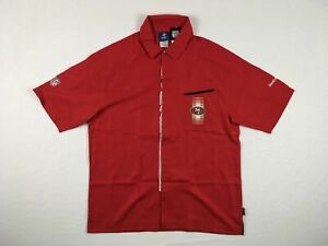 453483b5b Image is loading NEW-Reebok-San-Francisco-49ers-Red-Poly-Polo-