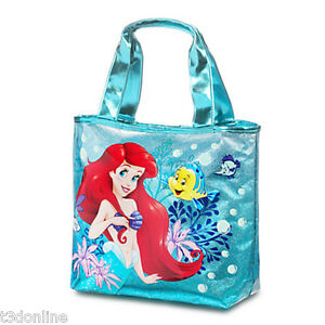 Image Is Loading Genuine Disney Princess Ariel Beach Bag Swim