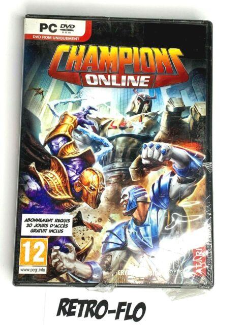 Champion Online - Jeu PC - NEUF En Boite