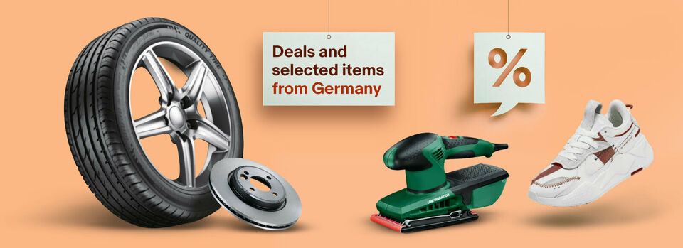See selected deals - German sellers offer discounts for you