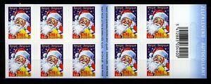 Belgium**CHRISTMAS 2005-SANTA CLAUS-Booklet B58-10vals@POSTPRICE-Père Noel