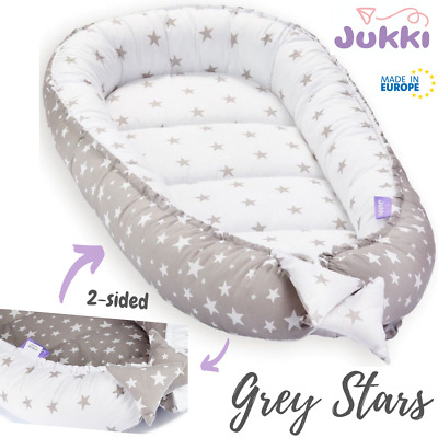 Blue ~ Made in EU Pink BABY NEST POD Sleepyhead Newborn Cocoon ~ Grey Stars