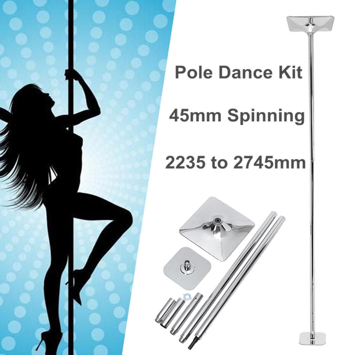 Portatile 45mm set professional dance pole spinning ballare Fitness