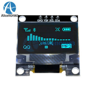 0-96-034-I2C-IIC-Serial-128X64-128-64-Blue-OLED-LCD-LED-Display-Module-for-Arduino