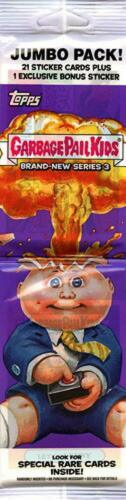 BNS 3 GPK 2013 Topps Garbage Pail Kids Jumbo Pack Brand New Series 3