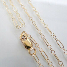 18 Inch 14k Gold Filled Long and Short Chain Necklace