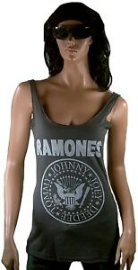Logo Ho Official Amplified Canotta Hey Ramones Vintage Vip M Let's Go wqEIIPx