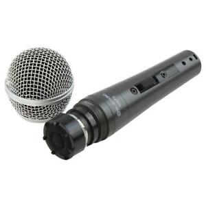BLASTKING MH7S Dynamic Vocal Handheld Microphone  with On/Off Switch - XLR Cable and Mic Clip Included Canada Preview