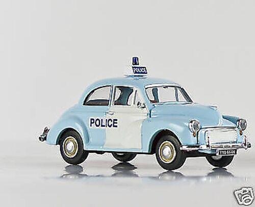 BREKINA 15204 15204 15204 - Morris Minor 'Police', azul HO 7cfeb7