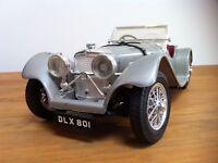 1:18 Burago 1937 Jaguar SS 100 (flawed)