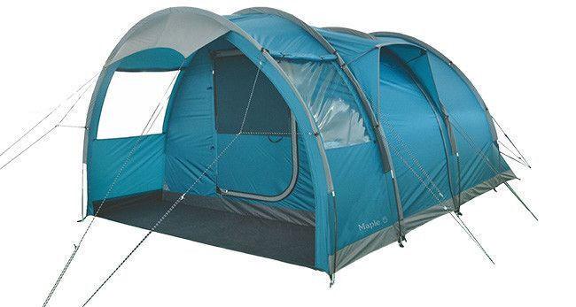 TOURIST Tent Highlander Maple Maple Maple 5 Travel Outdoor Camping Blau 734eea