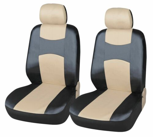 Leather like 2 Front Car Seat Covers for Buick #7159