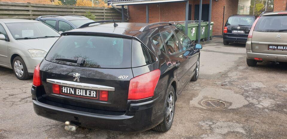 Peugeot 407 1,8 SR stc. Benzin modelår 2006 km 165000