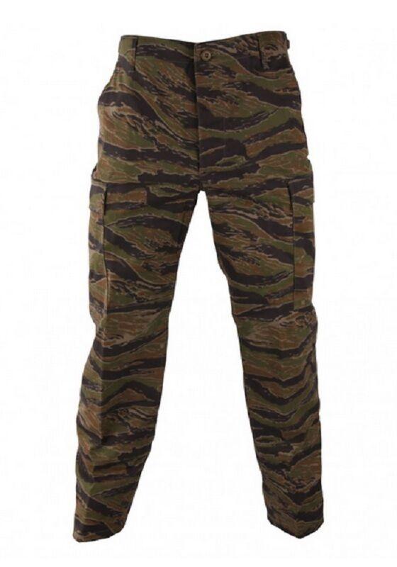 US Propper Genuine Gear BDU Army Trouser TIGER STRIPE Pantaloni SL Small Long