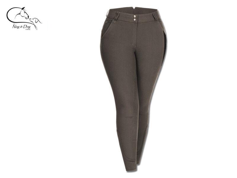 WALDHAUSEN Elly in silicone Grip Vita Alta Pantaloni Donna Taglie Forti GRATIS P&P