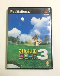 USED-PS2-Minna-no-Golf-3-JAPAN-Sony-PlayStation-2-import-Japanese-Everybody-039-s