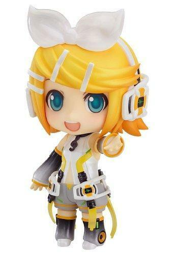 Kb04c Good Smile Vocaloid: Kagamine Rin: Append Nendoroid Action Figure