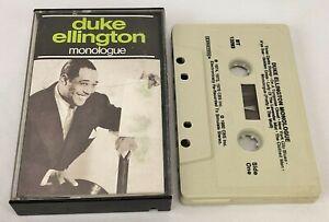 Duke Ellington ~ Monologue ~ CBS Special Products, BT 13293, Cassette, 1982, US