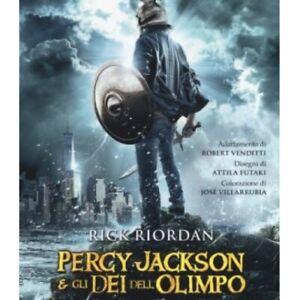 LIBRO-LADRO-DI-FULMINI-PERCY-JACKSON-E-GLI-DEI-DELL-039-OLIMPO-RICK-RIORDAN