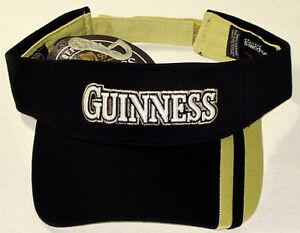 GUINNESS VISOR HAT/CAP Embroidered Licensed NEW
