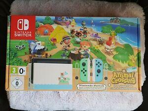 Animal Crossing New Horizon's Nintendo Switch Console *NO ...