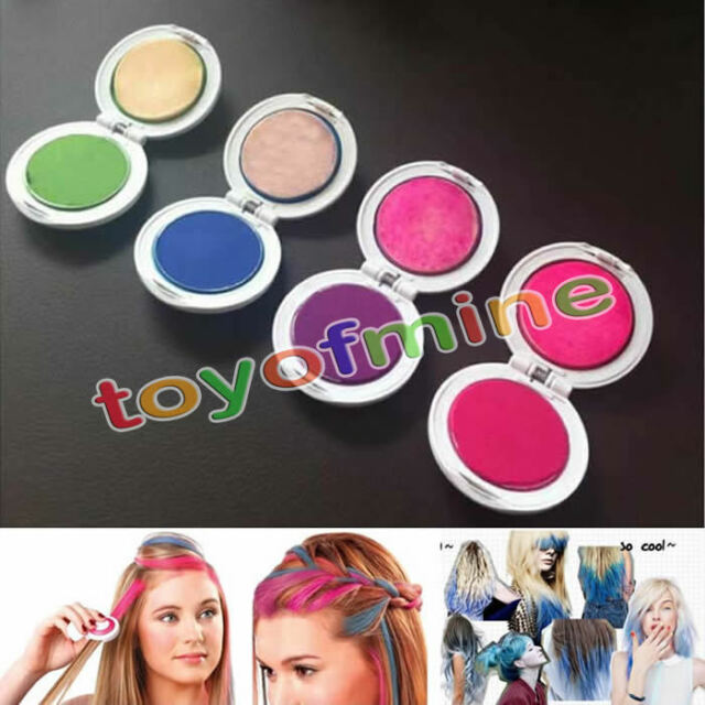 4pcs Fashion Non-toxic Temporary Hair Chalk Dye Soft Pastels Salon Tools Kit Hot