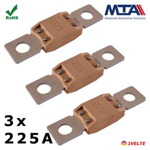 3x225A MEGA Sicherung 50,8mm KFZ LKW Hochstrom Schraubsicherung MTA Qualität