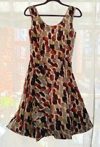 Nicol-Farhi-Silk-Dress-Size-8-UK