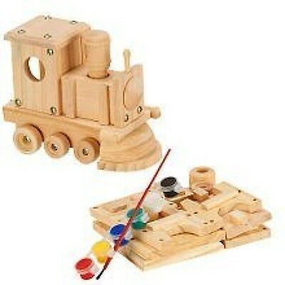 Wooden Toy Building Kit from Home Depot: Wood, Hardware, Paint, Instructions