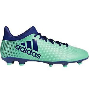 Adidas-Performance-Hommes-X-17-3-Fg-Sol-Ferme-Football-Bottes-Aero-Vert