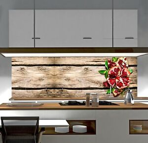 Details zu Küchenrückwand Holz Frucht SP668 ACRYLGLAS Spritzschutz  Badfliesen Duschwand