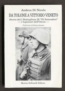 WWII-A-Di-Nicola-Da-Tolone-a-Vittorio-Veneto-Battaglione-M-1-ed-1995