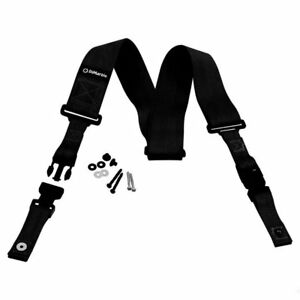 DiMarzio-039-ClipLock-039-2in-Nylon-guitar-strap-with-locking-clips-Black-DD2200BK