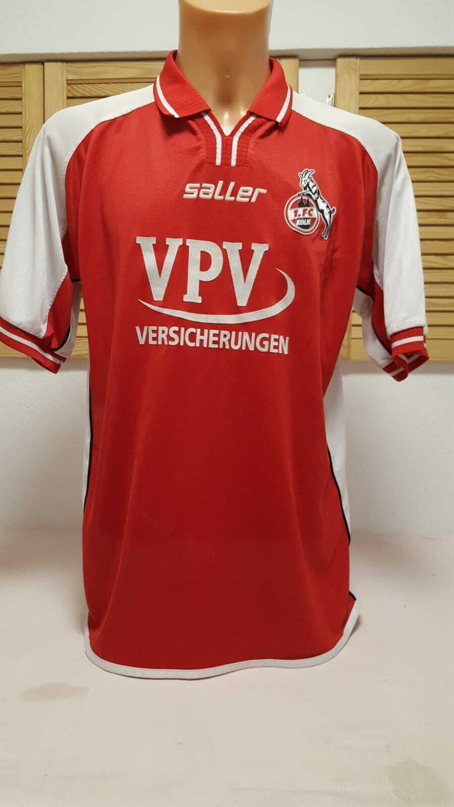 1. FC Cologne Jersey 2002 03 Jersey Shirt Saller Vpv Camiseta Maglia Maillot L XL