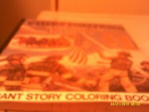 year 2001 donald L collins giant story coloring book fire fighters see details