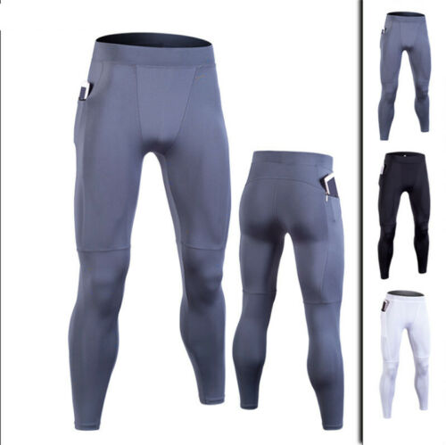 Men/'s Compression Pants Base Layer Cool Dry Tights