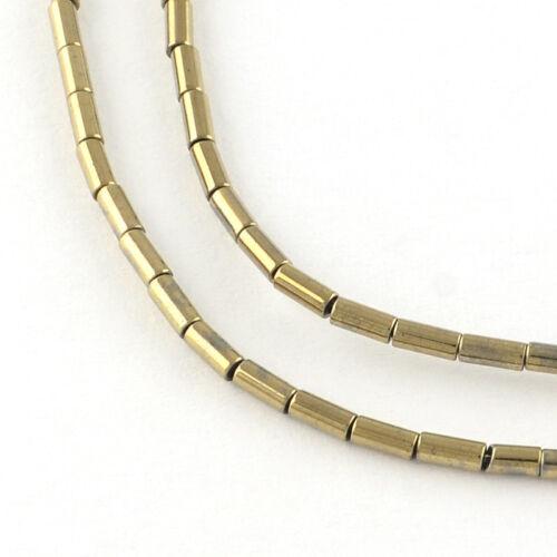 Hématite Perles 82st 5x3mm EUROBAROMETRE #9636 lightgold