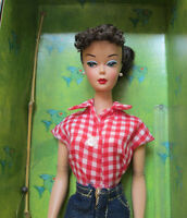2005 Barbie Doll+fashion Reproduction Of 1959 Picnic Set 967gold Label