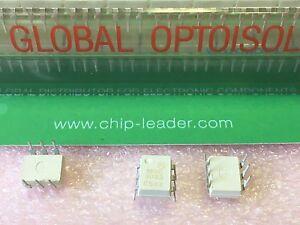 2x MOT MOC2A60-5 ISOLATOR POWER OPTO 2AMP ZIRO-CROSS TRIAC OUTPUT CASE417-02