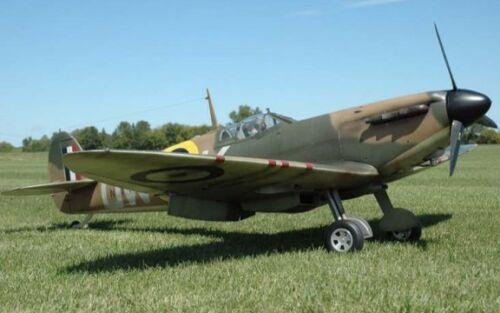 """1//4 Maßstab Spitfire 111 /"""" Riese Maßstab RC Airplanedigital Pdf Plans auf CD"""